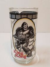 Vintage 1977 King Kong Coca Cola Cinema Classics Dino De Laurentiis Cup Glass