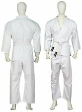 Karate suit kids Childrens Karate Uniform 100% Cotton & Belt (0-130cm) Spedster