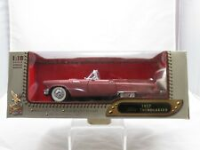 Leather Series 1957 Ford Thunderbird 1/18 Die Cast Yat Ming Pearl-Pink