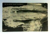 "Secret Caverns New York The ""Alligator"" Vintage Postcard"