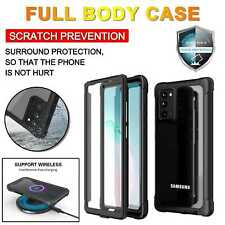 360 Full Body Heavy Duty Shockproof Case Cover For Samsung S20 S10 Note 20 10 +