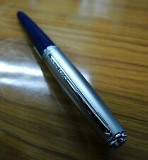 Camlin ElegantePremium FountainPen Jet Blue G plated Nib   Buy One Get One free