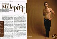 Coupure de Presse Clipping 2013 (2 pages) Benjamin Millepied