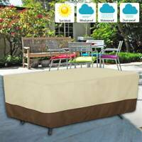 Large Waterproof Garden Patio Furniture Cover For Rattan Table Cube Outdoor UK