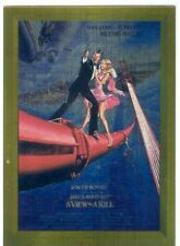 James Bond Connoisseurs Collection Volume 1 Metalworks Poster Chase Card P05