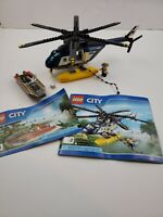 LEGO City 60067 - Helicopter Pursuit -  Incomplete w/ Police Chopper & Boat