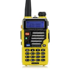 Baofeng UV-5R Plus Two-way Radio Ham VHF/UHF Dual Band+ 18cm Antenna Yellow