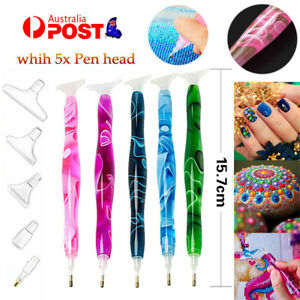 5D Resin Diamond Painting Pen Resin Point Drill Pens Cross Stitch DIY Craft Art