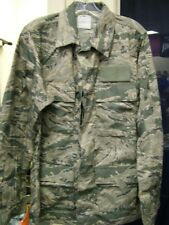 US AIR FORCE ABU COAT AIRMAN'S FLIGHT SUIT TOP NOMEX JACKET SMALL LONG