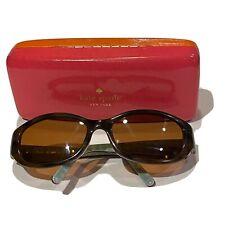 Kate Spade Prescription Sunglasses Brown Tortoise Shell Blue Womens Designer