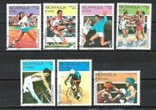 JO été Nicaragua (20) série complète de 7 timbres oblitérés