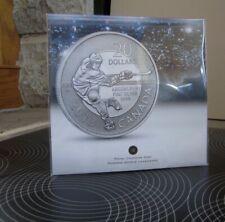 "$20 for $20 2012 Canada Fine Silver Coin "" Hockey""  RCM sealed"