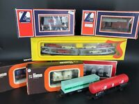 Lot 8 wagons LIMA HO 3105 2804 2830 2819 2903 2873 2841 9050
