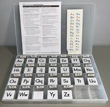 Ezread Magnetic Photo Tiles Set Beginning Sounds Educational Teacher Alphabet