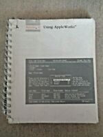 Apple II Computer Owner's Guide Manual 1986 Spiral Binding 030-3074-A Works User