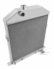 1942-1948 Ford Coupe Radiator for Chevy motor Champion 4 Row Aluminum
