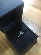 Platinum Solitair Diamond Ring, .40ct diamond size,