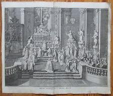 Picart Ceremony Religion Catholic Church Holy Mass  - 1732