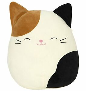 """Squishmallow Plush Doll Cam the Cat Squishmallow KellyToy 8"""" New with Tag"""