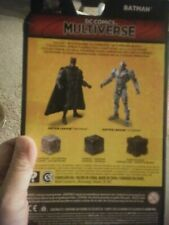 dc multiverse justice league batman with 3 motherboxes rare new