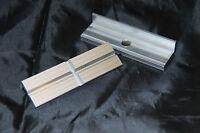9-900-S9100 Schraubstock Schutzbacken Alu-Prismen mit Magnet 100mm,Bernstein No