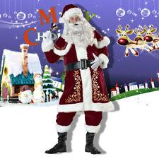 Feynman Weihnachtsmann Kostüm Santa Claus Verkleidung Nicolaus Weihnachten  XL