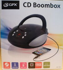 Gpx, Inc. Bc112B Portable Am/Fm Boombox with Cd Player
