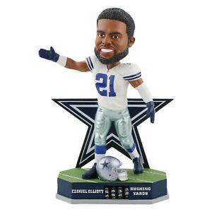 Ezekiel Elliott Dallas Cowboys Fantasy Football Rushing Bobblehead NFL Wrong Box