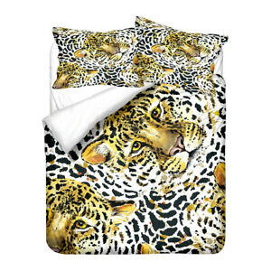 Cool Animal Tiger Adult Kids Bedding Duvet Quilt Cover Set Single Double Queen
