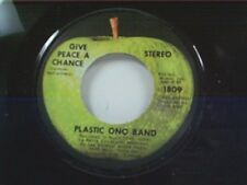 "PLASTIC ONO BAND (JOHN LENNON) ""GIVE PEACE A CHANCE / REMEMBER LOVE"" 45 MINT"