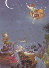 RARE Victor Nizovtsev Twinkle Twinkle Little Star Russian modern postcard