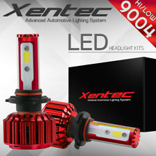 XENTEC LED HID Headlight kit 9004 HB1 White for 1987-1992 Plymouth Voyager
