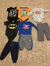 Baby boy clothes 0-3 months lot 8