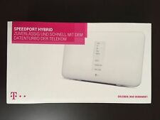 Telekom Speedport Hybrid 1300 Mbps 4-Port Gigabit Wi-Fi 802.11ac Router LTE