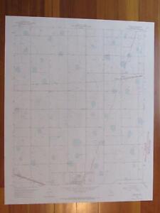 Sterley Texas 1967 Original Vintage USGS Topo Map