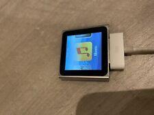 *FAULTY* Apple ipod nano 6th generation 8 gb - Silver - FREE POST UK
