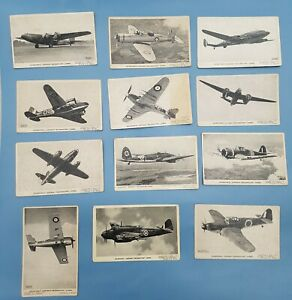 Valentine's Aircraft Recognition Cards x 12