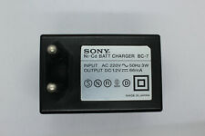 SONY BC-7, Ni-Cd Battery Charger, 100% working, GumStick Battery, Minidisc