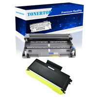 2 Pack Combo TN650 Toner Cartridge and DR620 Drum For Brother HL-5370DW Printer
