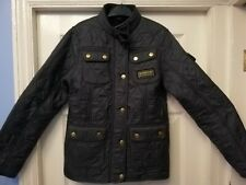 GENUINE BARBOUR BLUE 10 YEARS 11 YEARS COAT JACKET NO BELT
