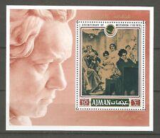 Ajman Adschman 1971 Musik Komponist Beethoven Block 270 postfrisch