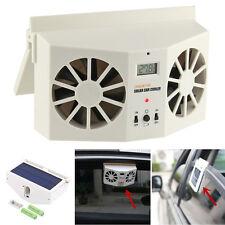 1PC Solar Powered Car Window Air Vent Ventilator Mini Air Conditioner Cool Fan