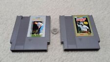 NES golf 2-pack, Jack Nicklaus Greatest 18 Holes -AND- Lee Trevino Fighting Golf