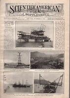 1909 Scientific American Supp November 27-Switzerland in balloon;Halley's Comet