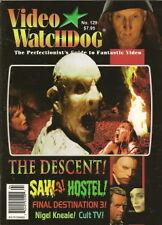 VIDEO WATCHDOG #129 THE DESCENT, HOSTEL, SAW 1-3