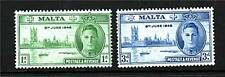 Malta 1946 Victory SG 232/3 MNH