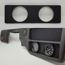 Radio Gauge Pod :: 92-95 Honda Civic (all) :: 52mm x2 / Dual-Gauges plate delete