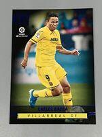 Carlos Bacca 2019-20 Panini Chronicles Soccer Blue Parallel #391 Villarreal CF