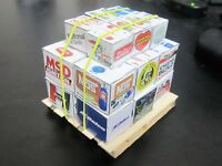1/18 scale diorama accessories 18 different parts boxes brand names w/ pallet!