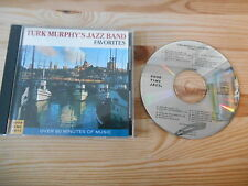 CD Jazz Turk Murphy Jazz Band - Favorites (21 Song) GOOD TIME JAZZ / FANTASY